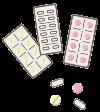 錠剤のイラスト