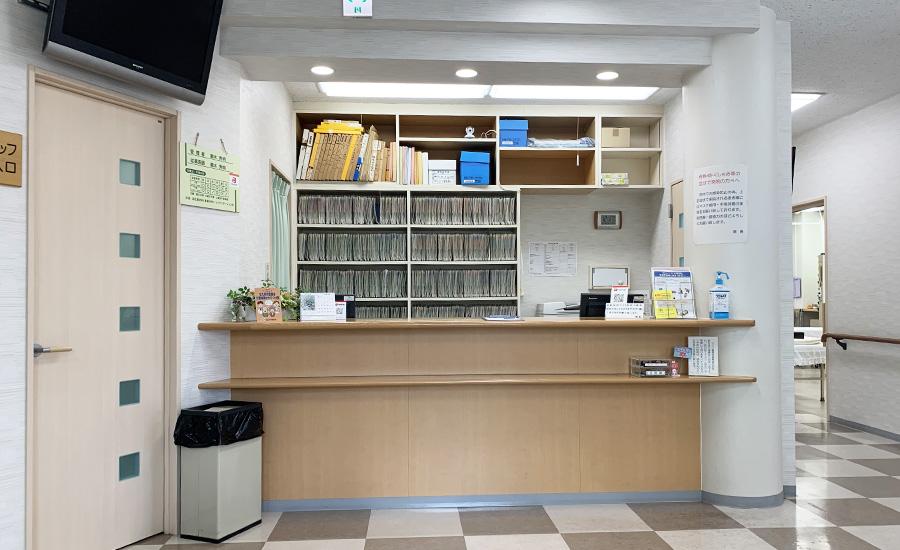 鵜木医院の受付