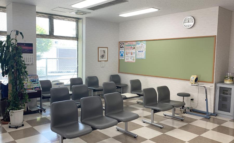 鵜木医院の待合室
